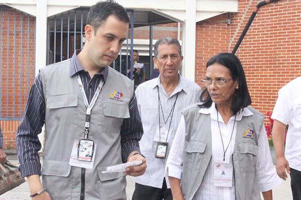 Rectora del CNE, Socorro Hernández ejerce su derecho al voto |Foto: La Patilla