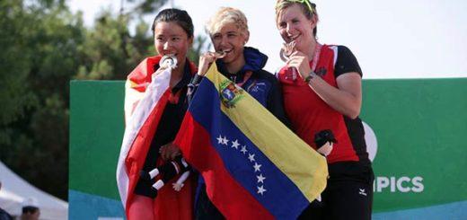 Las venezolanas se alzaron con preseas |Foto AVN