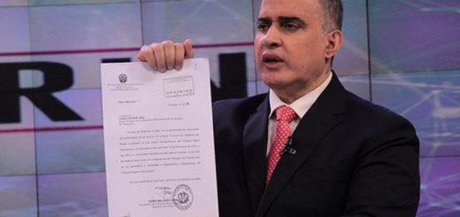 Defensor del Pueblo reveló resultados de pruebas grafotécnicas a firma de la Fiscal General | Foto referencial