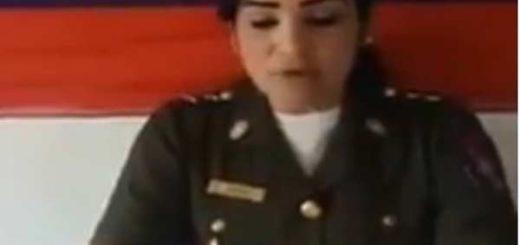 Teniente de la FANB envía mensaje a los venezolanos |Captura de video