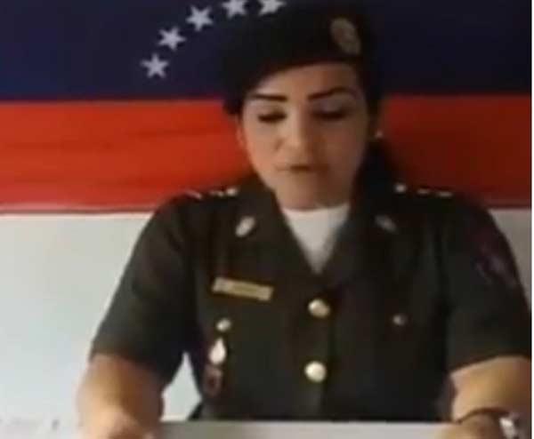 Teniente de la FANB envía mensaje a los venezolanos Captura de video