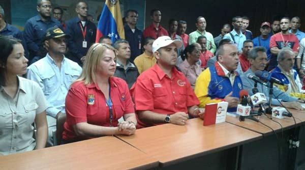 Central Bolivariana de Trabajadores rechaza llamado a paro convocado por la oposición | Foto: Twitter