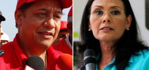 Socorro Hernández y Asdrúbal Chávez firmaron contrato de Pdvsa con Odebrecht | Composición: NotiTotal