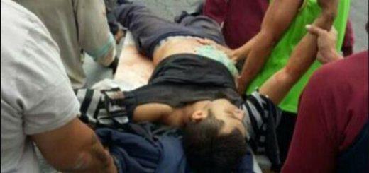 Joven Asesinado en Tovar | Foto: Twitter