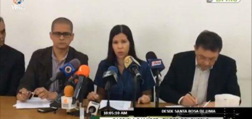 Chavistas disidentes en rueda de prensa | Foto: Twitter