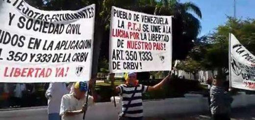 Denuncian detención de jubilado del Cicpc por protestar contra el gobierno
