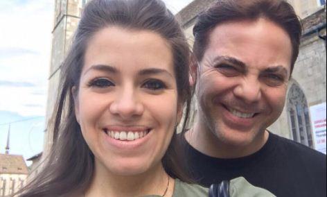 Cristiano Castro y su esposa | Foto: Instagram