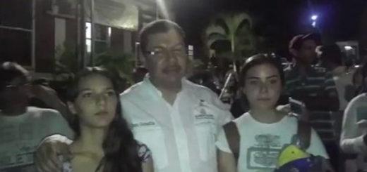 Liberan a esposa e hijas del diputado Calzadilla tras ser recluídas por el Plan República | Captura de video