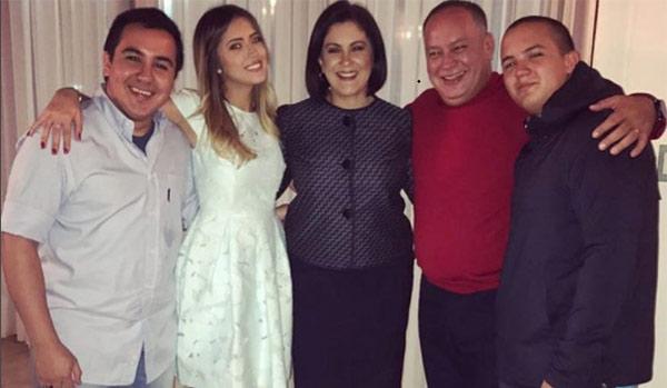 Hijos de Diosdado Cabello | Foto: Cortesía