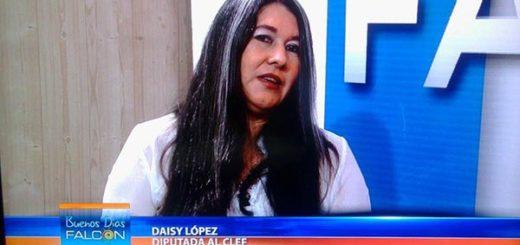 Daicis Lopez, diputada del Consejo Legislativo de Falcón | Foto: Twitter