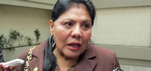 Diputada Norma Piérola Valdez | Foto: Archivo