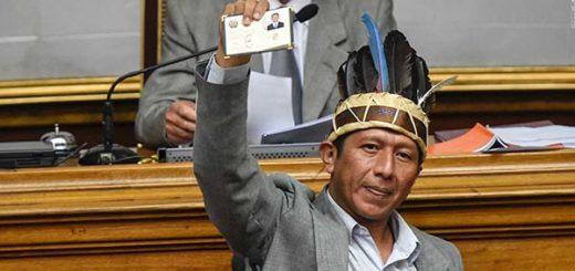 Diputado de Amazonas, Robert Guzamana | Foto: AFP