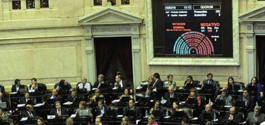 Diputados argentinos en la Cámara | Foto referencial