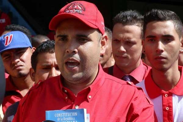 El presidente del Sindicato del Metro de Caracas, Edison Alvarado | Foto: Primicias24