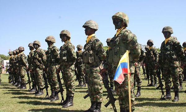 Armada militar de Colombia en la frontera con Venezuela | Foto referencial