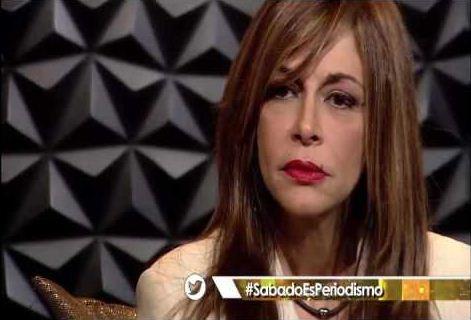Gigi Zanchetta en el programa Sábado en la noche | Foto: Captura de video