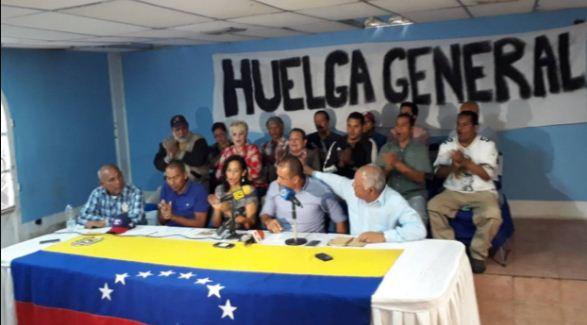 Convocatoria a Huelga General | Foto: El Nacional