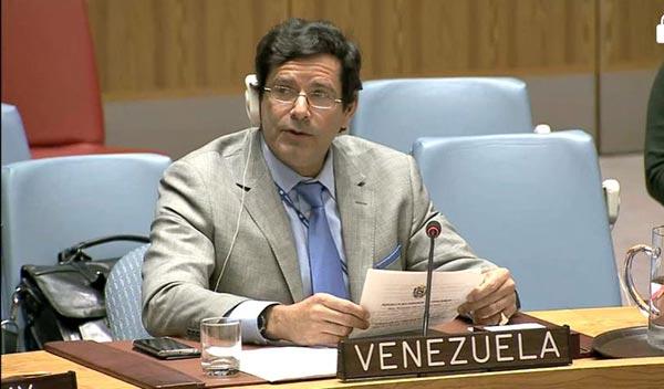 Isaías Medina, miembro de Misión Venezuela en la ONU | Captura de video