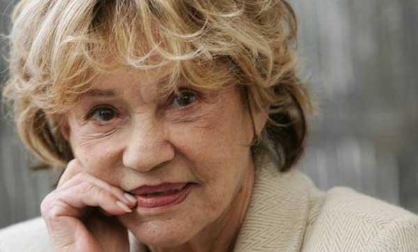 Muere a los 89 años la legendaria actriz francesa Jeanne Moreau   Foto: ABC