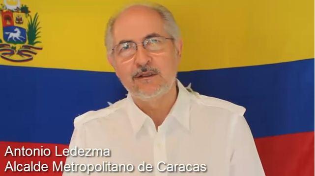 Antonio Ledezma | Foto: Captura de video