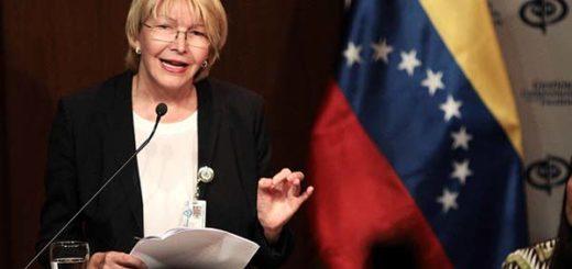 Fiscal General de la República, Luisa Ortega Díaz | Foto: Cortesía