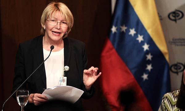 Fiscal General de la República, Luisa Ortega Díaz   Foto: Cortesía