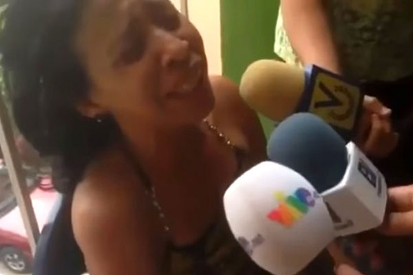 Madre de Andrés Uzcátegui | Captura de video