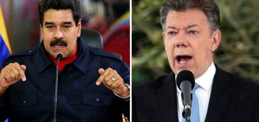 Nicolás Maduro ofende a Juan Manuel Santos | Fotomontaje Notitotal