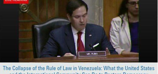 Marco Rubio, senador republicano de EEUU | Foto: Captura de video