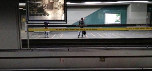 Metro de Caracas   Foto: Twitter