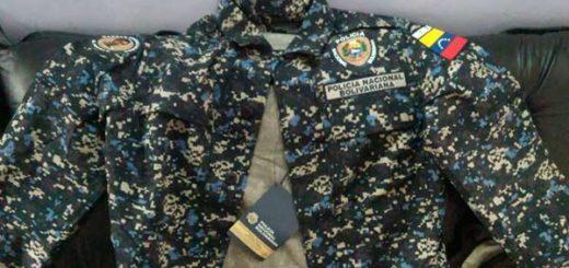 Nuevo uniforme de la PNB
