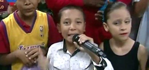 Gobierno usa niños para promover la Constituyente de Maduro | Captura de video