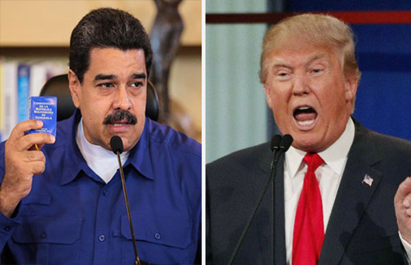 Trump amenaza con fuertes medidas económicas si Maduro impone la Constituyente | Composición: NotiTotal