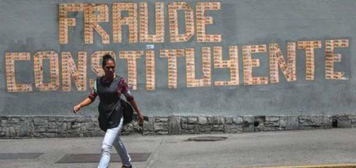 ¡Contra la pared! El mundo exige a Maduro restablecer la Democracia tras fraude constituyente |  Foto: EFE