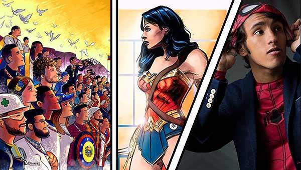 Ilustrador venezolano Oscar Olivares fue invitado al Comic Con | Imagen: @olivarescfc