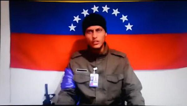 Oscar Pérez   Foto: Captura de video