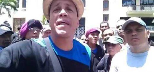 Oswaldo Rivero 'Cabeza de mango', se hizo responsable del ataque a la AN | Captura de video