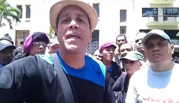 Oswaldo Rivero 'Cabeza de mango', se hizo responsable del ataque a la AN | Captura de video