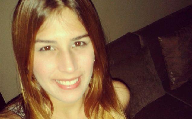 Joven periodista, Chirly Báez   Foto: Twitter