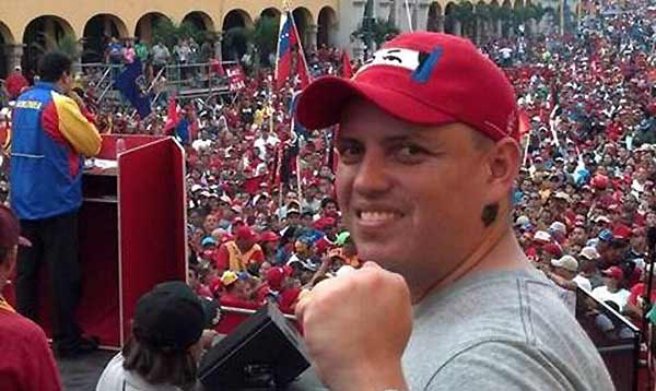 Periodista Fraybert Rivas | Foto: Twitter