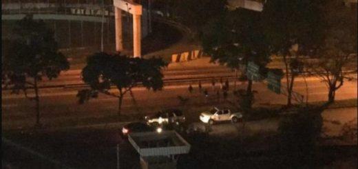 Protesta en Petare este 26 de julio | Foto: Twitter