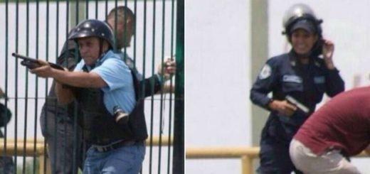Funcionarios de Poliaragua dispararon contra manifestantes | Foto: Twitter
