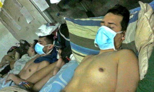 Funcionarios de Polichacao en huelga de hambre | Foto: @los14polichacao