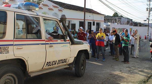 Policías intentaron impedir instalación de punto soberano en Yaracuy