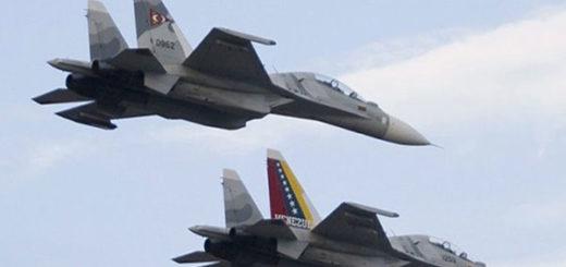 FANB realizará prácticas aéreas este martes en Caracas por el desfile del 5 de julio | Foto referencial