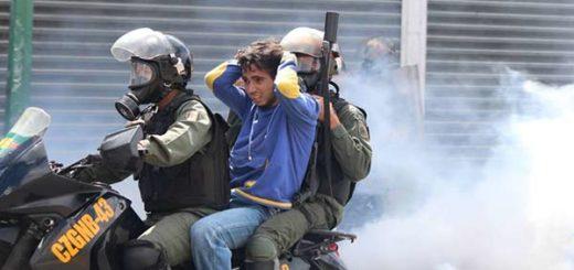Represión de este #6Jul contra opositores dejó más de 100 heridos y varios detenidos