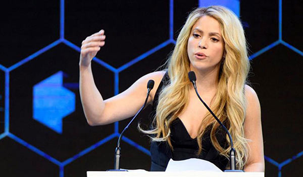 Shakira   Foto: Archivo