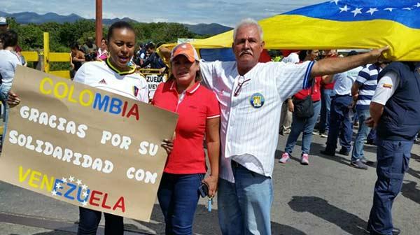 Venezolanos en Colombia | Foto: El Cooperante