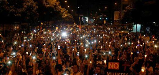 Oposición realizará marcha nocturna este #13Jul en honor a los caídos durante protesta   Foto: Cortesía