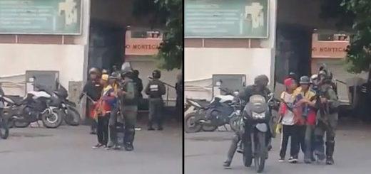 GNB se lleva detenido a Wuilly Arteaga | Capturas de video